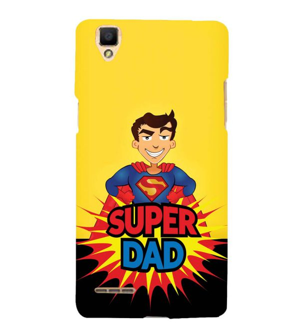 Super Dad Back Cover for Oppo F1