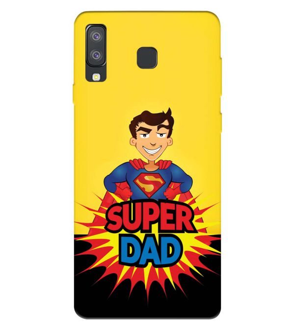 Super Dad Back Cover for Samsung Galaxy A8 Star