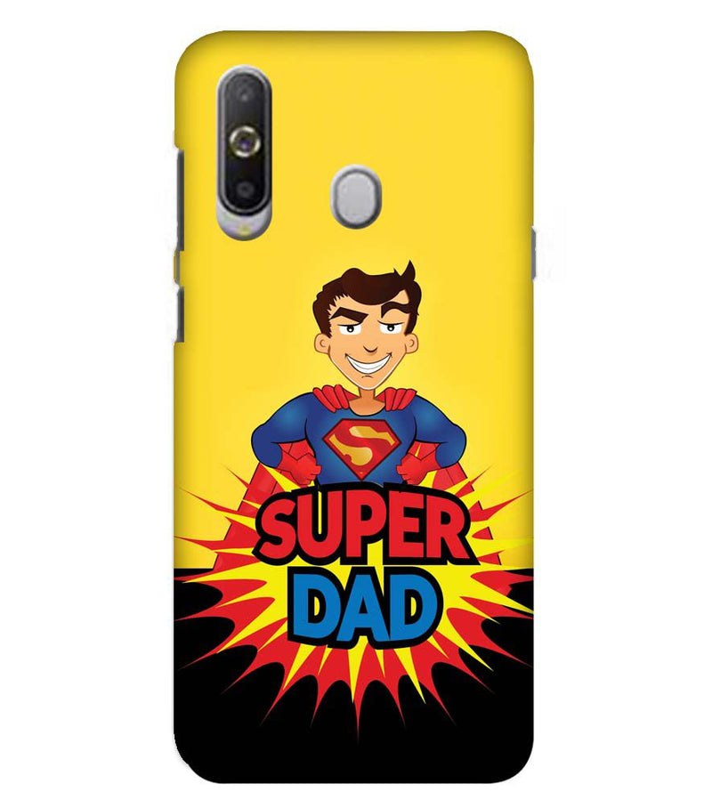 Super Dad Back Cover for Samsung Galaxy A8s