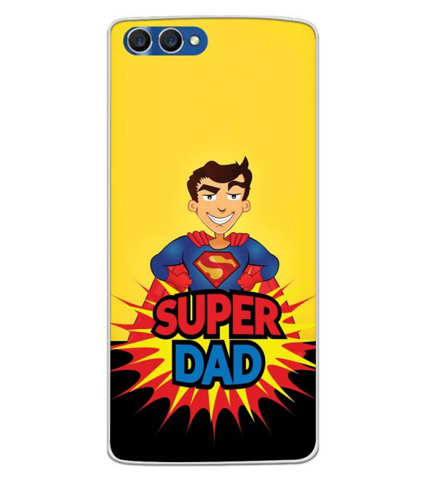 Super Dad Back Cover for Homtom H3-Image3
