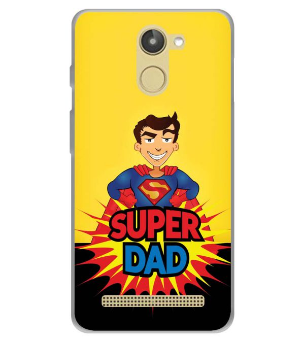 Super Dad Soft Silicone Back Cover for 10.or D (Tenor D)