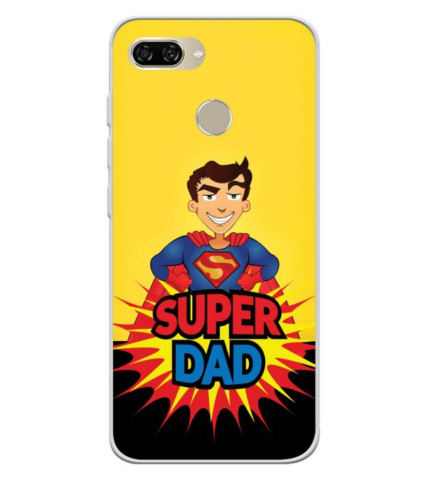 Super Dad Soft Silicone Back Cover for Gionee S11 lite