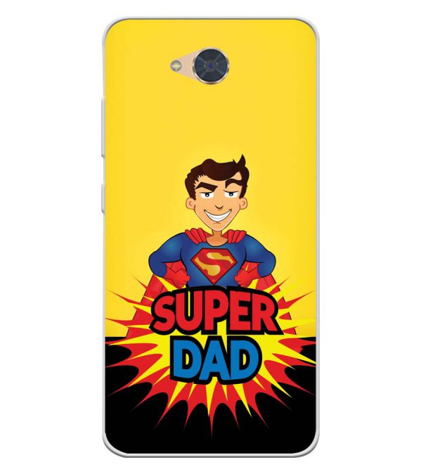 Super Dad Soft Silicone Back Cover for Gionee S6Pro