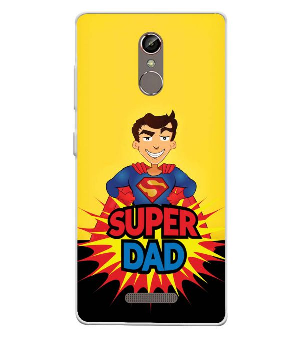 Super Dad Soft Silicone Back Cover for Gionee S6s