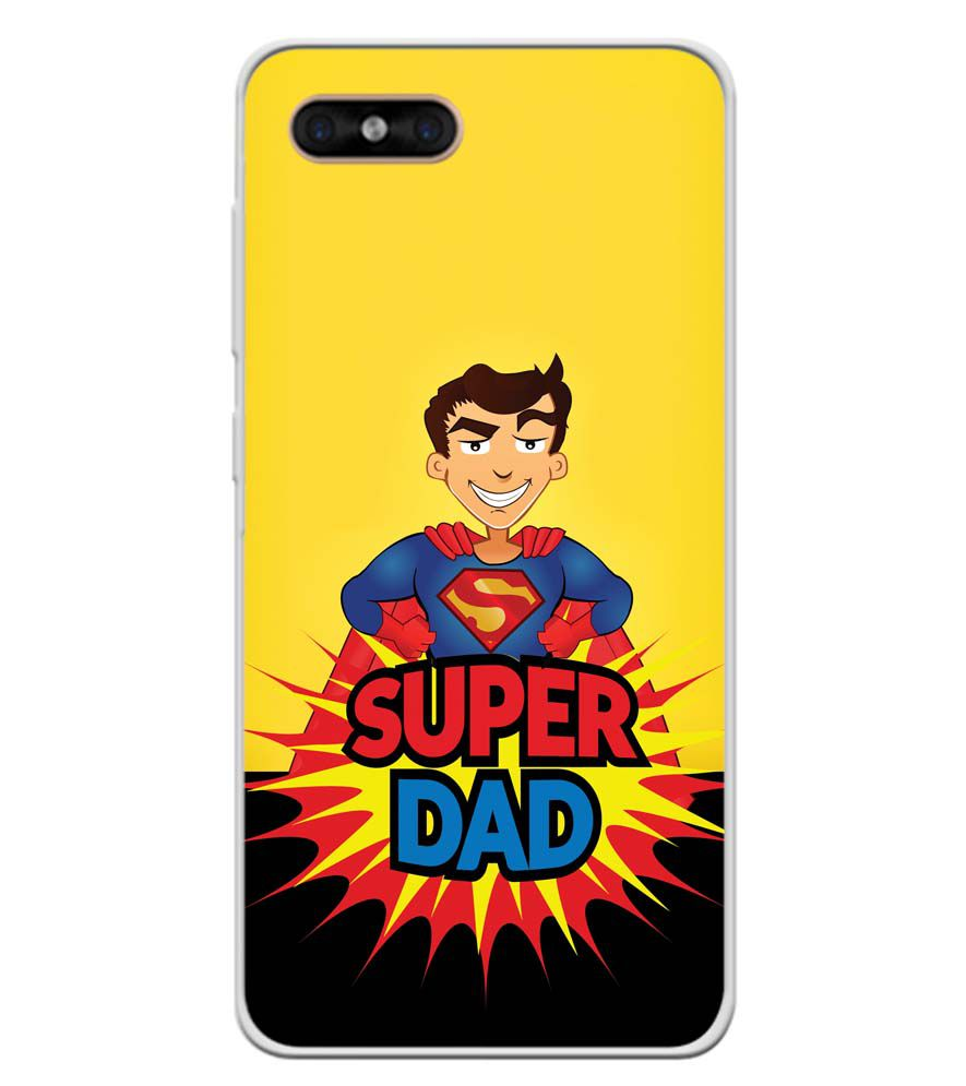 Super Dad Soft Silicone Back Cover for Gome C7