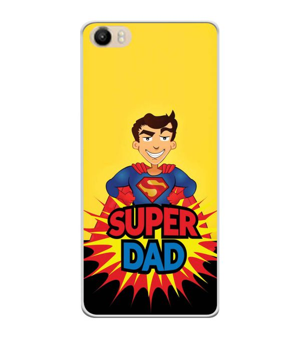 Super Dad Soft Silicone Back Cover for Itel PowerPro P41