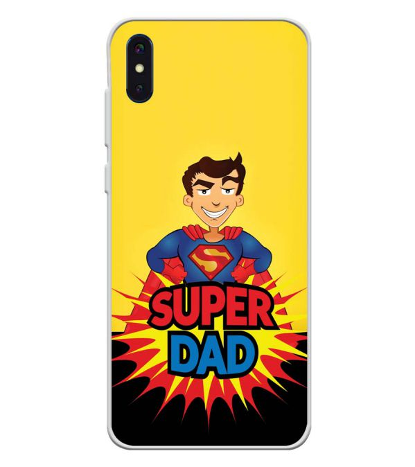 Super Dad Soft Silicone Back Cover for iVoomi i2