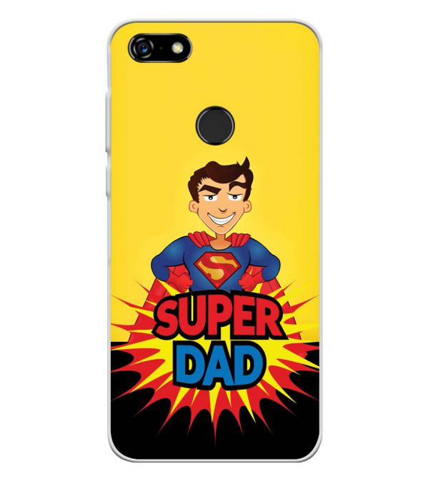 Super Dad Soft Silicone Back Cover for Lenovo A5