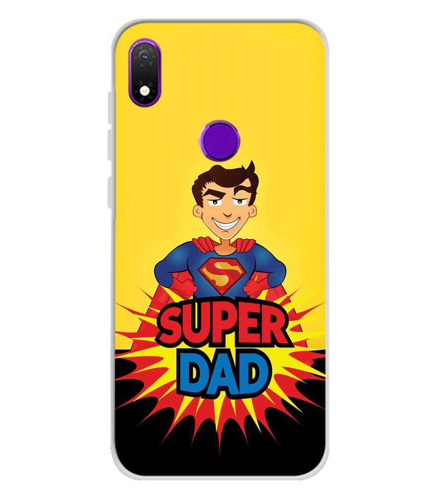 Super Dad Soft Silicone Back Cover for Mobiistar X1 Notch
