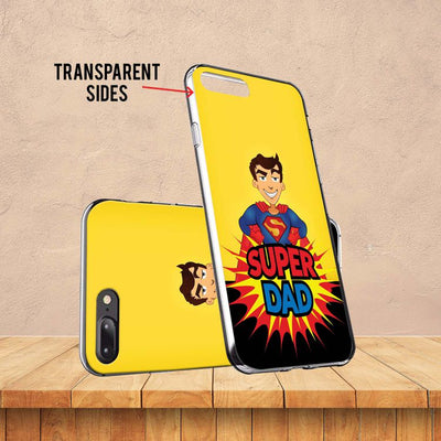 Super Dad Soft Silicone Back Cover for Mobistar CQ Dual-Image3