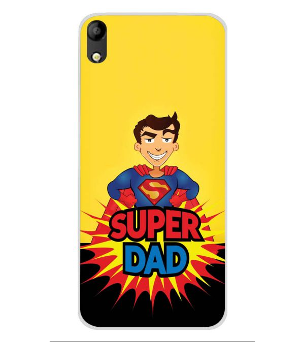 Super Dad Soft Silicone Back Cover for Mobistar C1