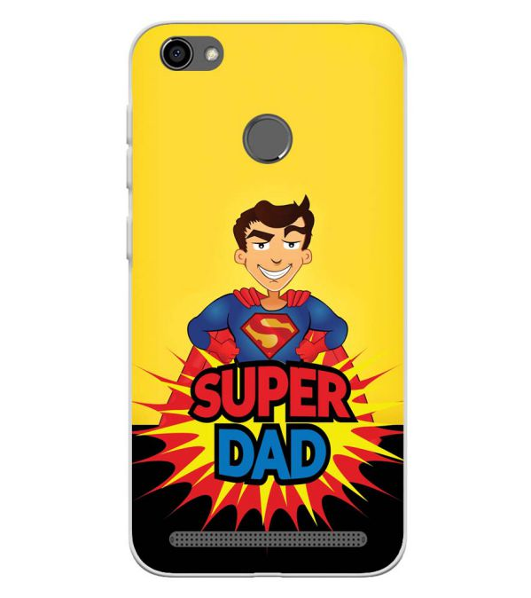 Super Dad Soft Silicone Back Cover for Panasonic P85 NXT