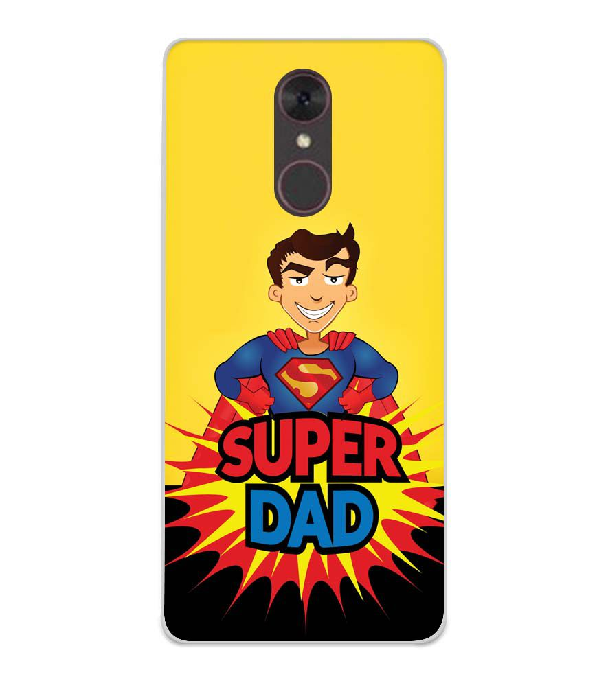 Super Dad Soft Silicone Back Cover for Spice F311
