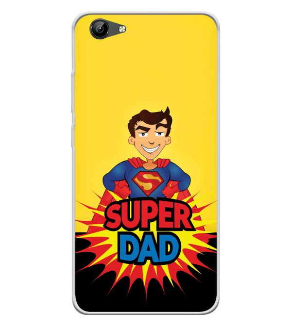 Super Dad Soft Silicone Back Cover for Vivo Y71i