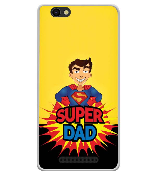 Super Dad Soft Silicone Back Cover for Xolo ERA X