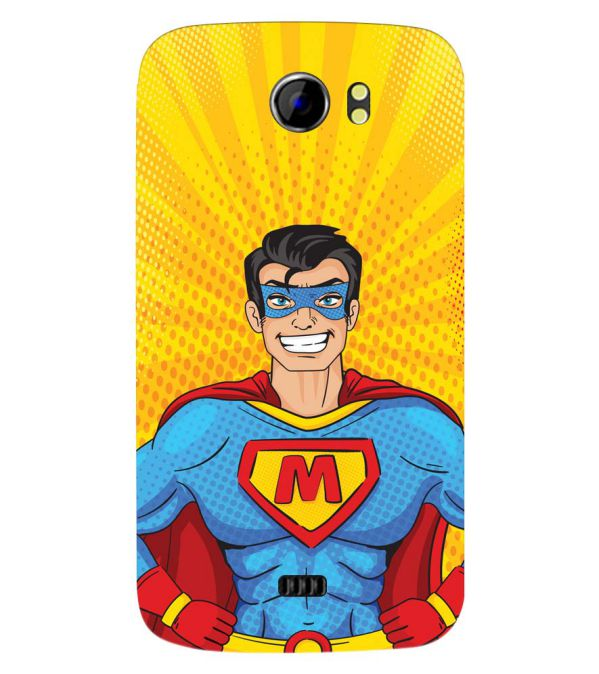 Super M Back Cover for Micromax A110 Canvas 2