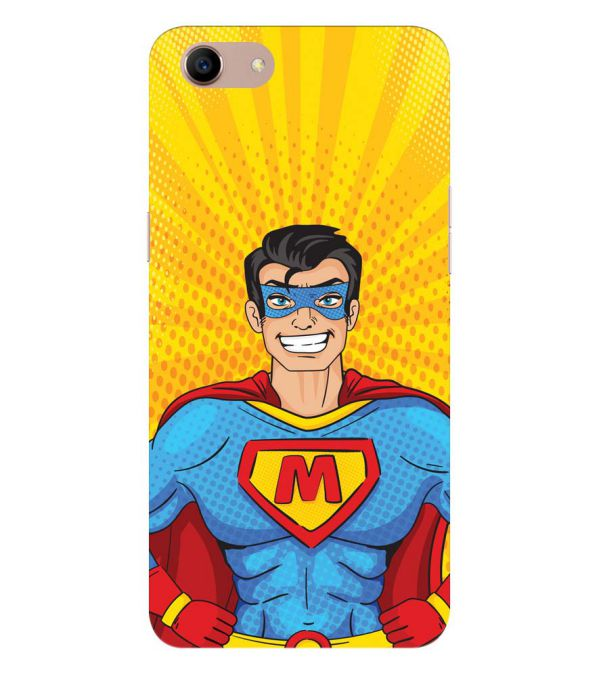 Super M Back Cover for Oppo A83