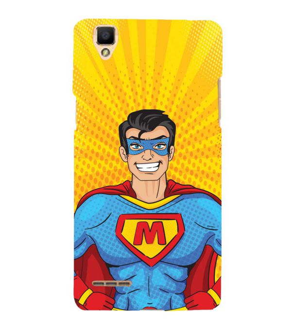 Super M Back Cover for Oppo F1