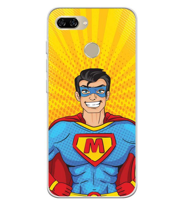 Super M Soft Silicone Back Cover for Gionee S11 lite