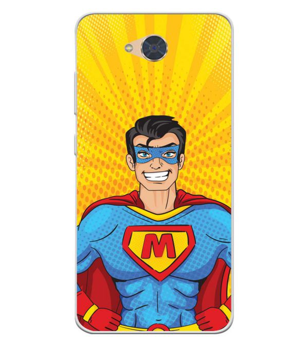 Super M Soft Silicone Back Cover for Gionee S6Pro