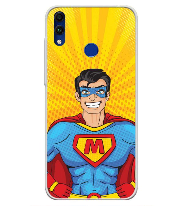 Super M Soft Silicone Back Cover for Honor 8C
