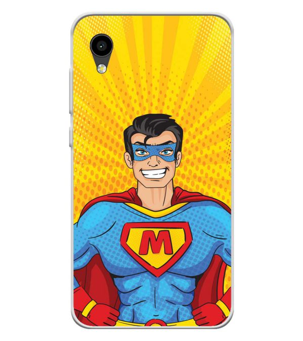 Super M Soft Silicone Back Cover for Intex Aqua 4G Mini