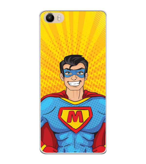 Super M Soft Silicone Back Cover for Itel PowerPro P41