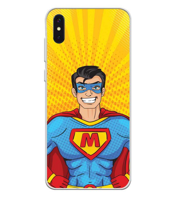 Super M Soft Silicone Back Cover for iVoomi i2