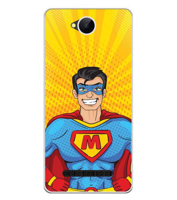 Super M Soft Silicone Back Cover for Karbonn A45 Indian