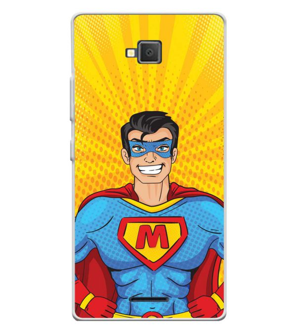Super M Soft Silicone Back Cover for Lava A82