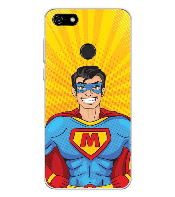 Super M Soft Silicone Back Cover for Lenovo A5