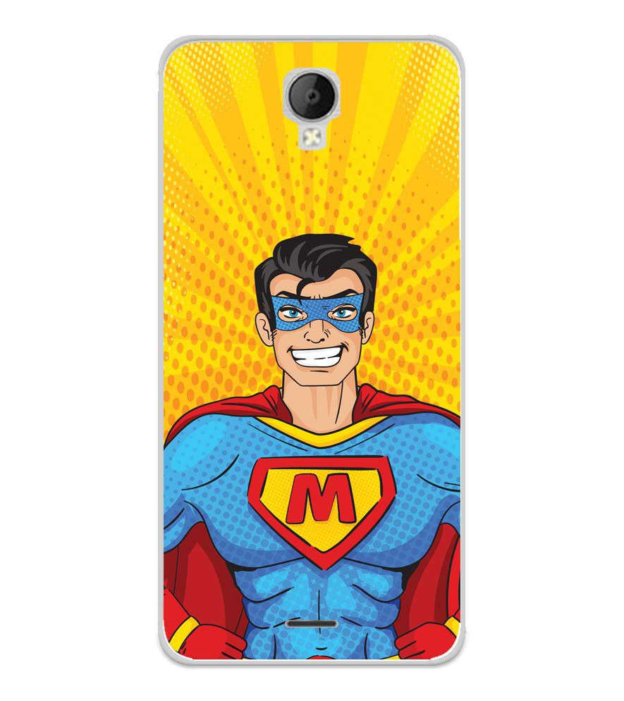 Super M Soft Silicone Back Cover for Micromax Spark Go