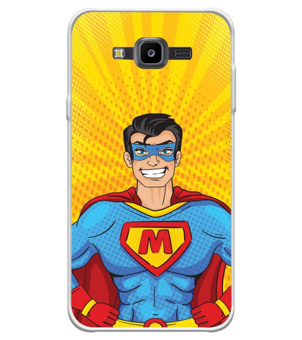 Super M Soft Silicone Back Cover for Samsung Galaxy J7 Nxt