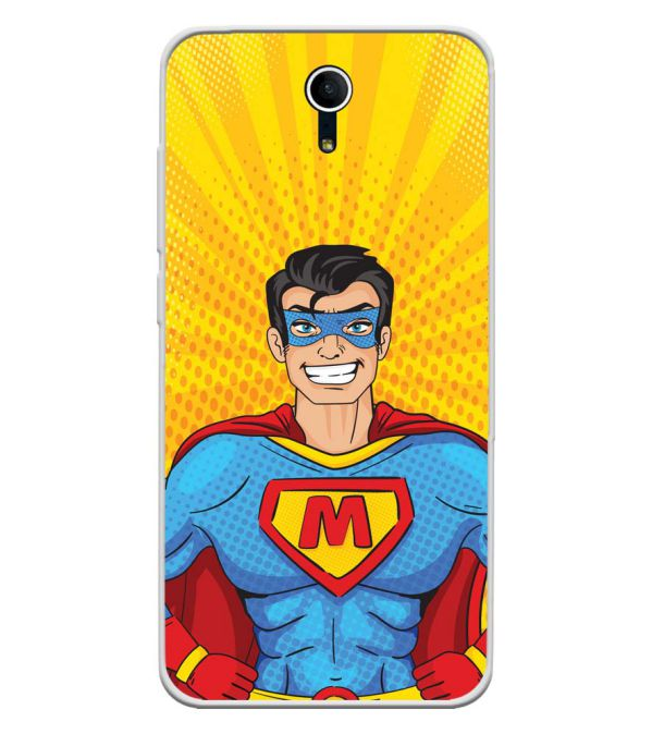 Super M Soft Silicone Back Cover for Swipe Elite Plus