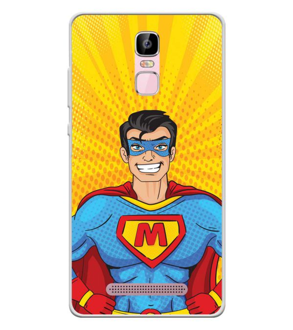 Super M Soft Silicone Back Cover for Zen Admire Sense Plus