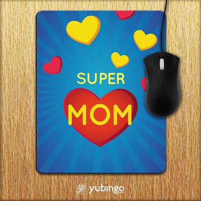 Super Mom with Big Heart Mouse Pad-Image2
