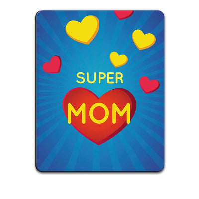 Super Mom with Big Heart Mouse Pad