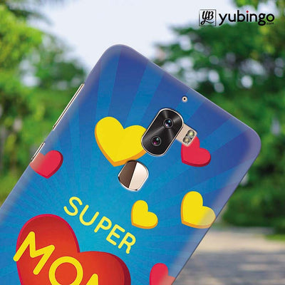 Super Mom with Big Heart Back Cover for Coolpad Cool 1-Image4