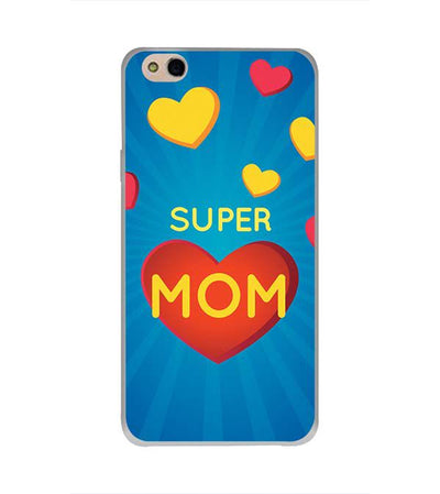 Super Mom with Big Heart Back Cover for InFocus Bingo 50 Plus
