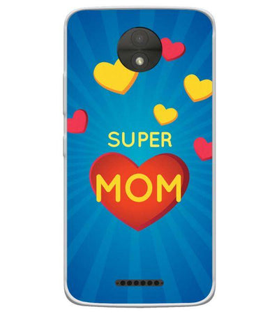 Best Mom in the World Back Cover for Motorola Moto C-Image4