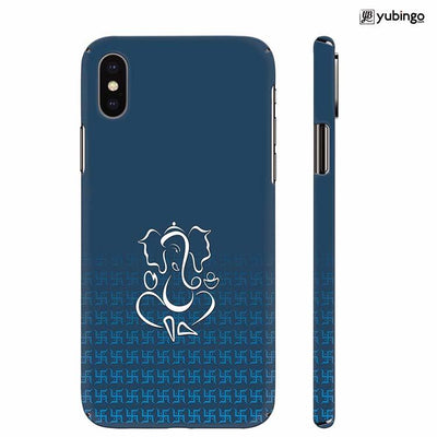 Swastik and Ganesha Back Cover for Apple iPhone X