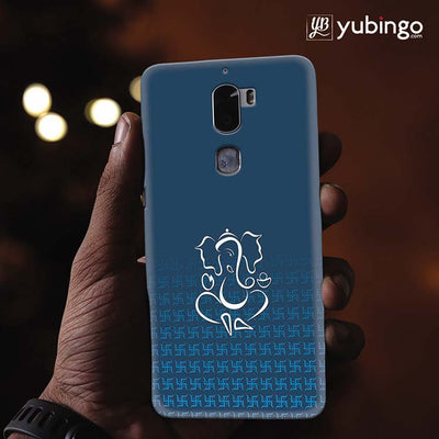 Swastik and Ganesha Back Cover for Coolpad Cool 1-Image2