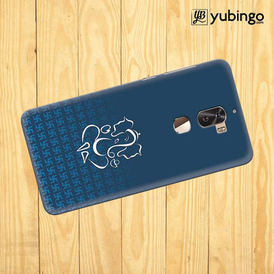 Swastik and Ganesha Back Cover for Coolpad Cool 1-Image3