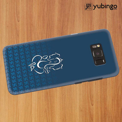 Swastik and Ganesha Back Cover for Samsung Galaxy S8 Plus-Image3