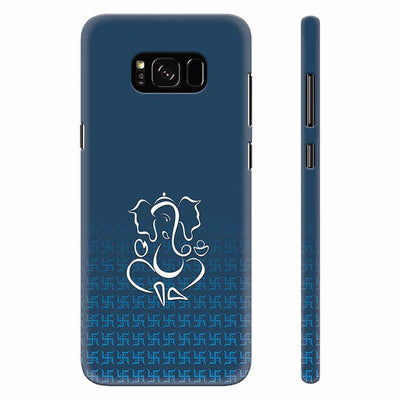 Swastik and Ganesha Back Cover for Samsung Galaxy S8 Plus