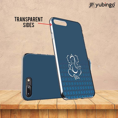 Swastik and Ganesha Soft Silicone Back Cover for Huawei Y9 (2019)-Image3