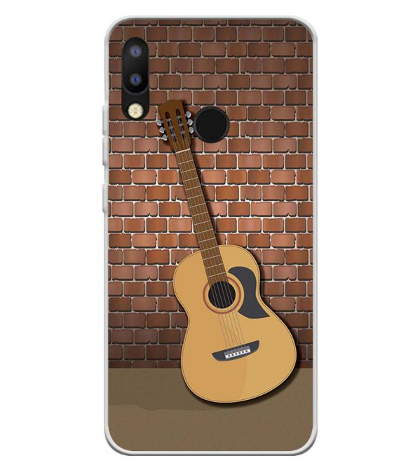 The Acoustic Soft Silicone Back Cover for Tecno Camon i2
