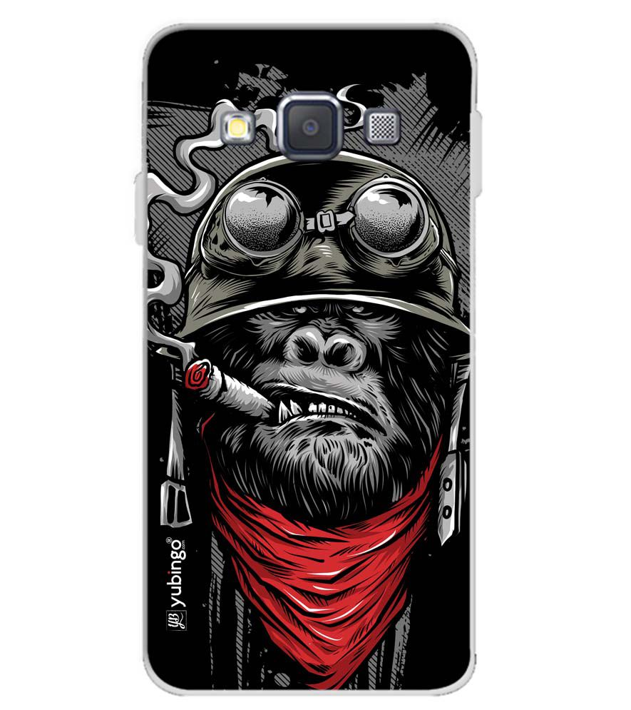 The Angry Ape Soft Silicone Back Cover for Samsung Galaxy A3 (2015)
