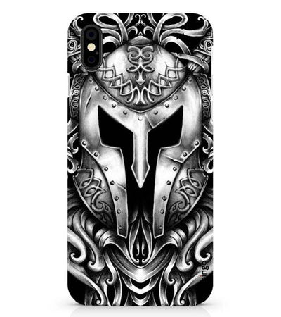 The Armor of Viking Back Cover for Apple iPhone X