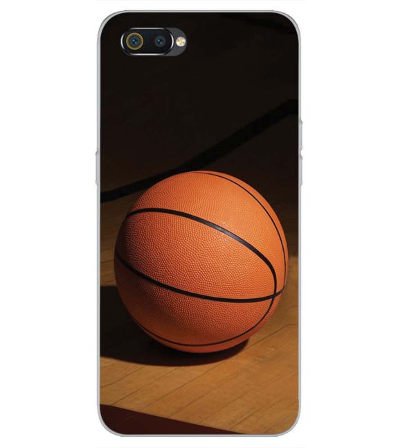 The Basketball Back Cover for Realme C2-Image3